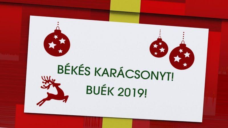 Kellemes Ünnepket és Boldog Új Évet Kívánunk!